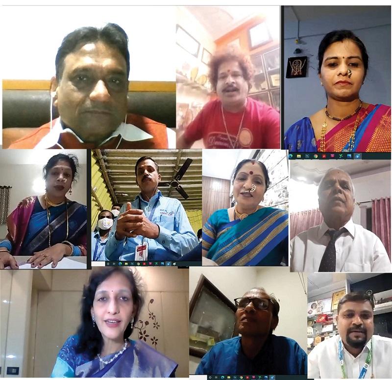 महाराष्ट्र दिवस पर नवरत्नों का सम्मान (Navratnas honored on Maharashtra Day in Hindi)